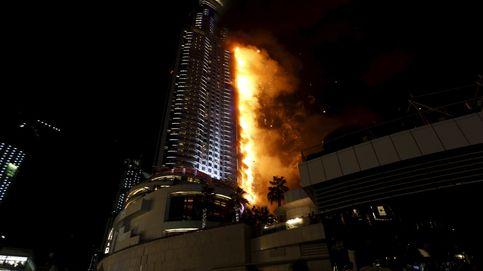 Gran incendio en un rascacielos de Dubai antes de celebraciones fin de año