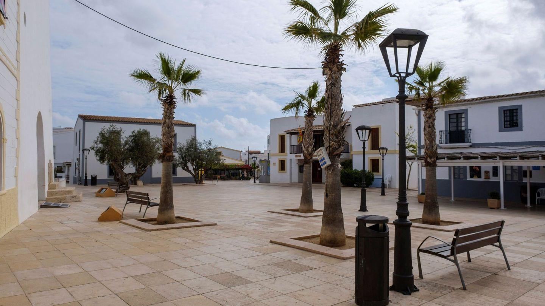Vista del núcleo turístico de Sant Francesc, en Formentera. (EFE)