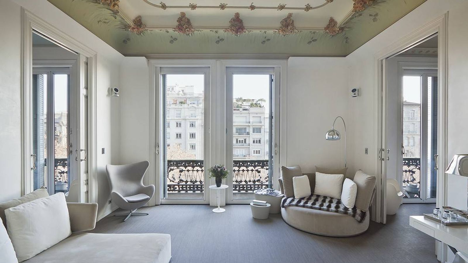 Foto: Uno de los apartamentos de lujo que se alquila en el Palauet (Barcelona) cedida por la propiedad.