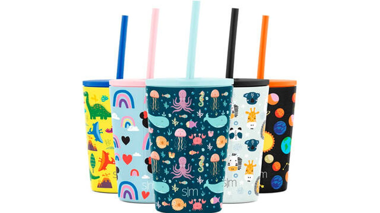 Taza térmica Simple Modern para niños