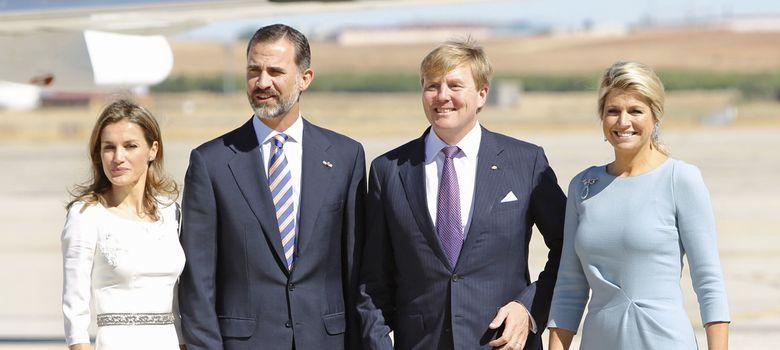 Foto: Los reyes de Holanda visitan España