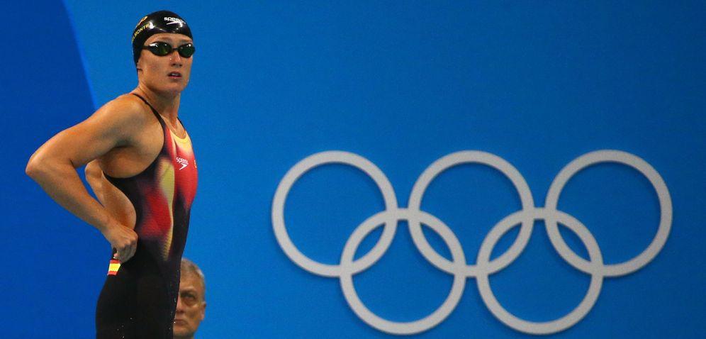 Foto: La nadadora española Mireia Belmonte luchará por la medalla en los 200 metros mariposa. (EFE)