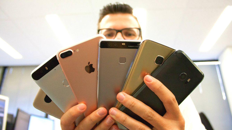 Duelo de cámaras: los mejores 'smartphones', frente a frente. ¿Cuál gana?
