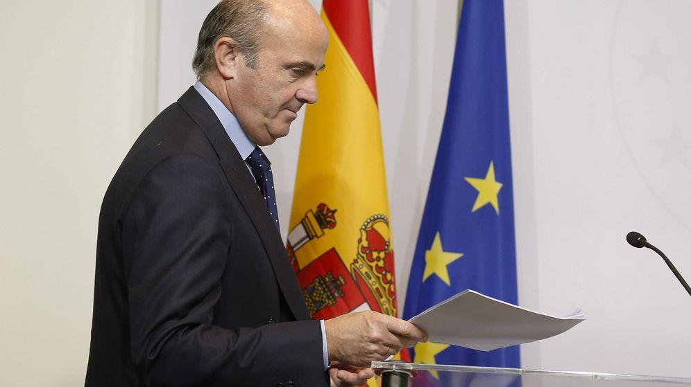 Foto: El ministro español de Economía y Competitividad, Luis de Guindos. (EFE)