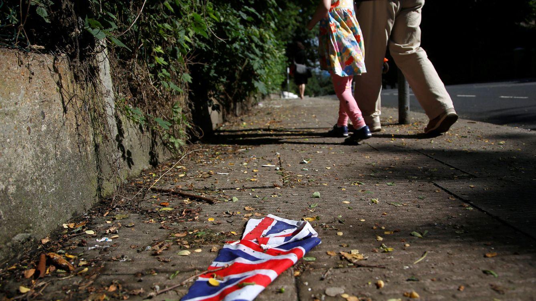Foto: Bandera británica (Reuters)