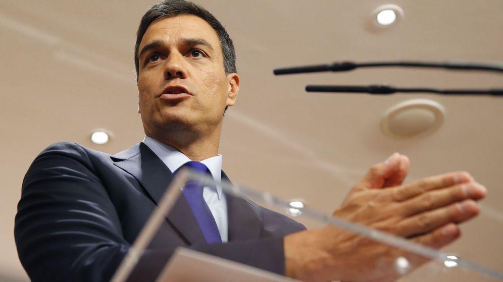 Foto: El secretario general del PSOE, Pedro Sánchez.