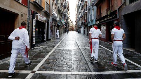 Un 7 de julio sin toros en las calles de Pamplona