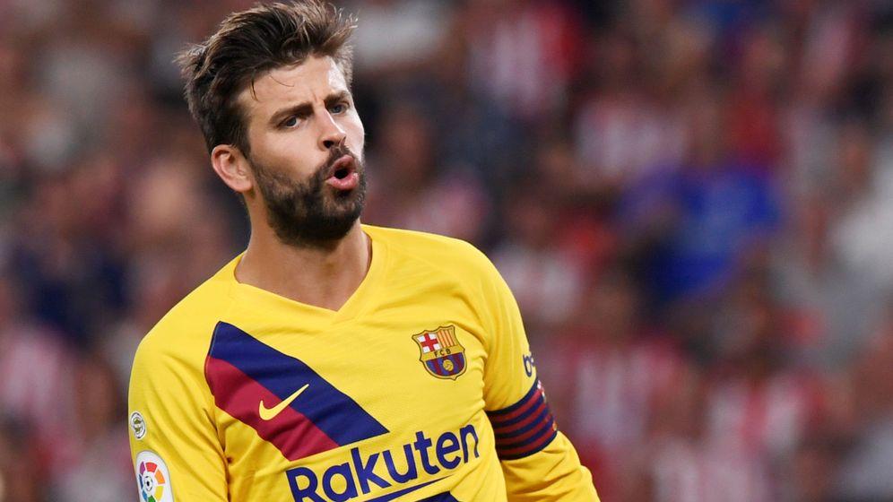 Foto: Gerard Piqué es consciente de los problemas del Barça. (Reuters)
