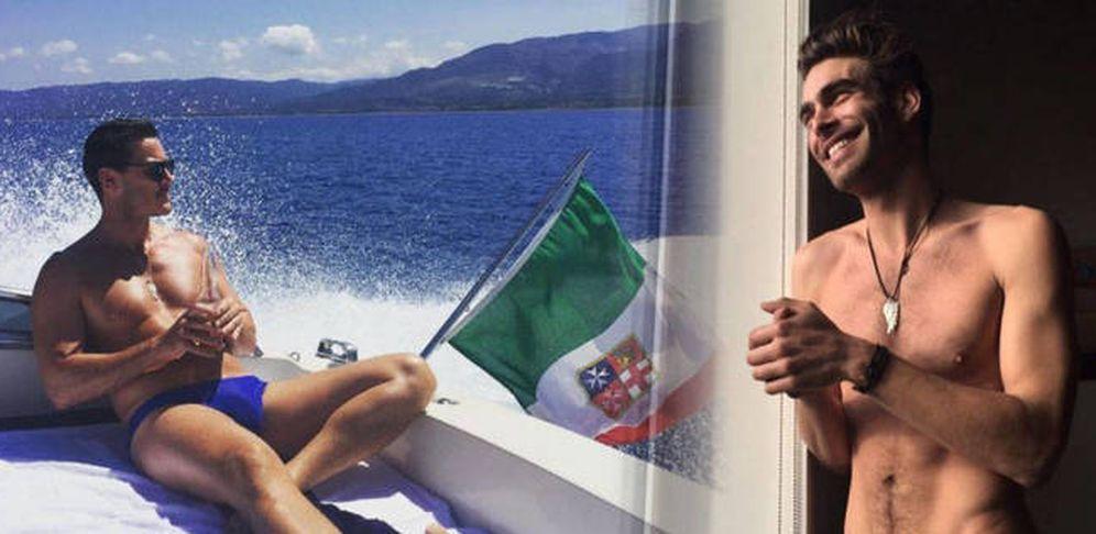 Foto: Kortajarena y Evans en un fotomontaje realizado por Vanitatis.
