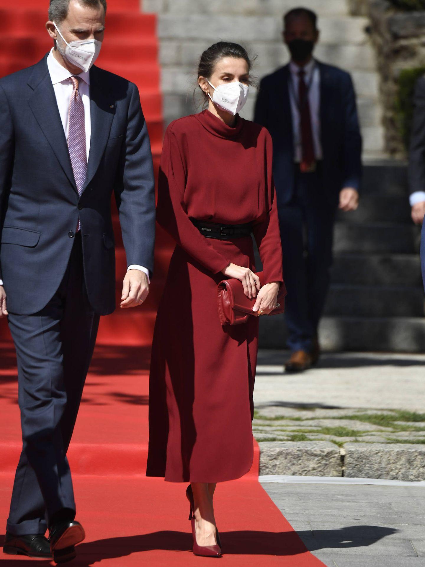 Letizia, durante su viaje de Estado a Andorra. (Limited Pictures)