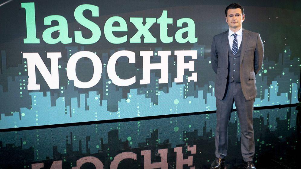 Foto: Iñaki López presenta 'La Sexta noche'.