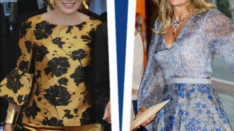 Estilo Real: del look hada de Máxima al pantalón terciopelo de Matilde