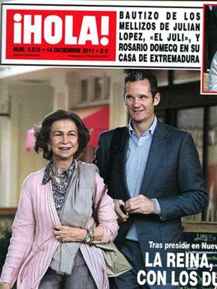 Foto: La Reina se plantea despedir el año en Washington tras la imputación de Iñaki Urdangarín