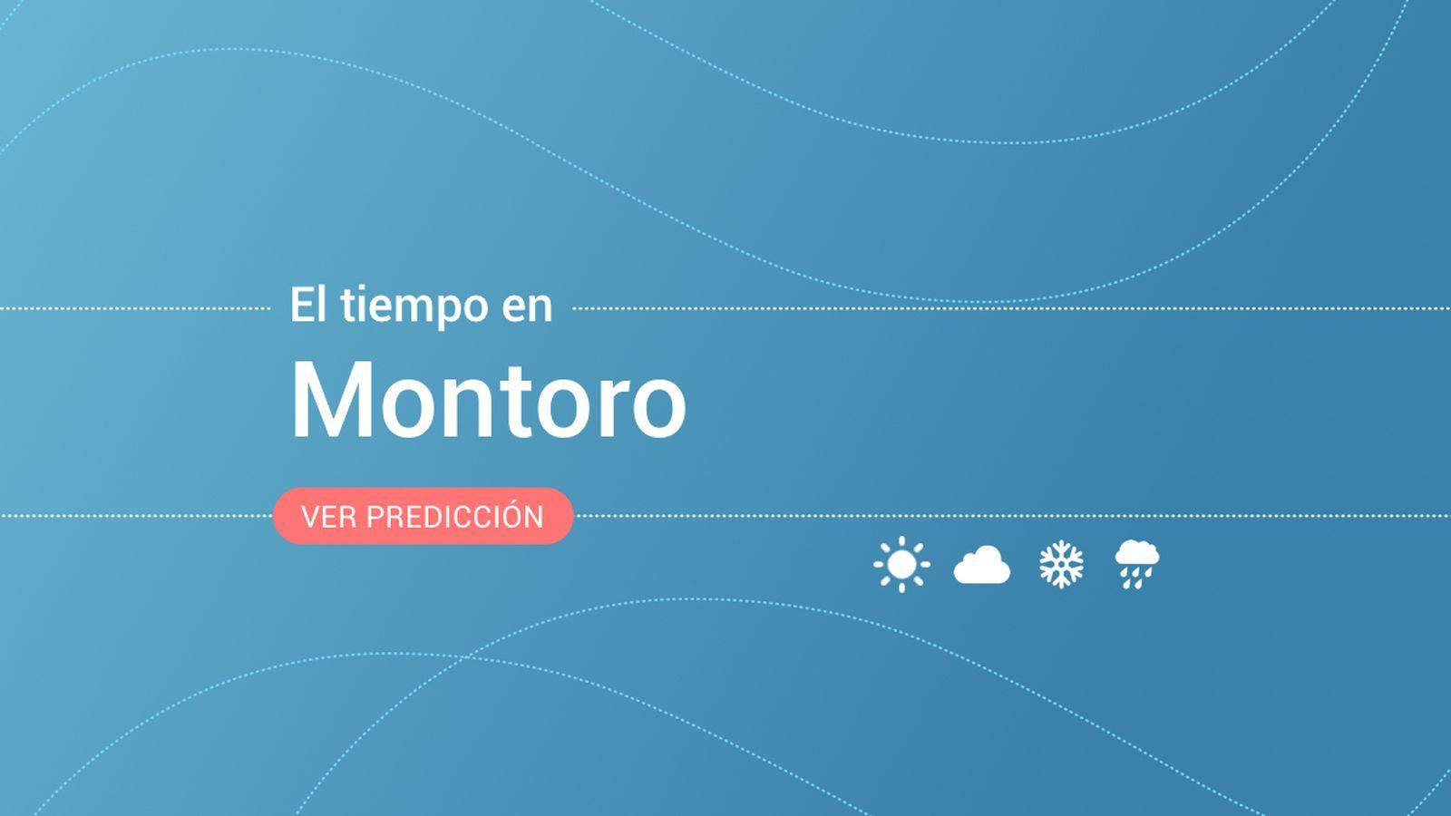 Foto: El tiempo en Montoro. (EC)