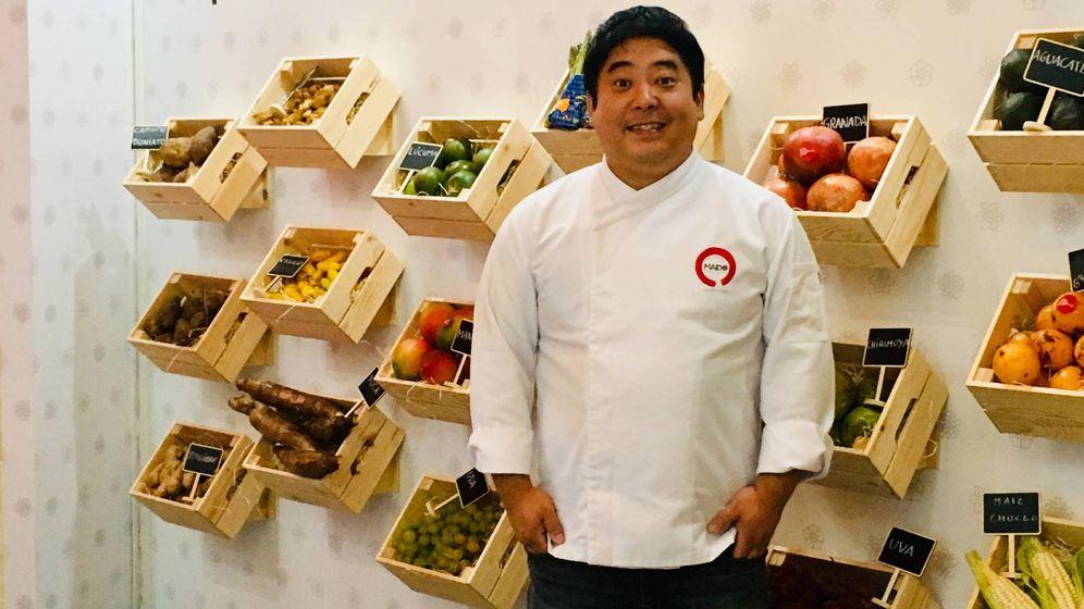 Foto: El chef Mitsuharu Tsumura, ayer en Madrid Fusión.