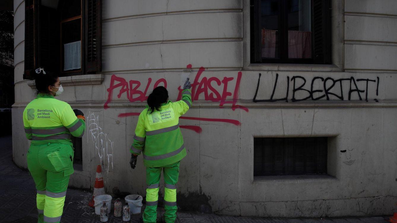 Las sedes de Podemos en Durango y Burgos, atacadas en las protestas por Hasel