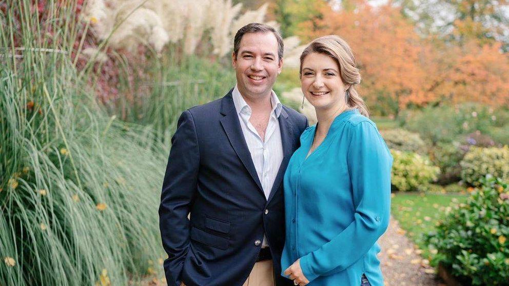 Guillermo y Stéphanie de Luxemburgo, padres de un hijo crucial para la Corona