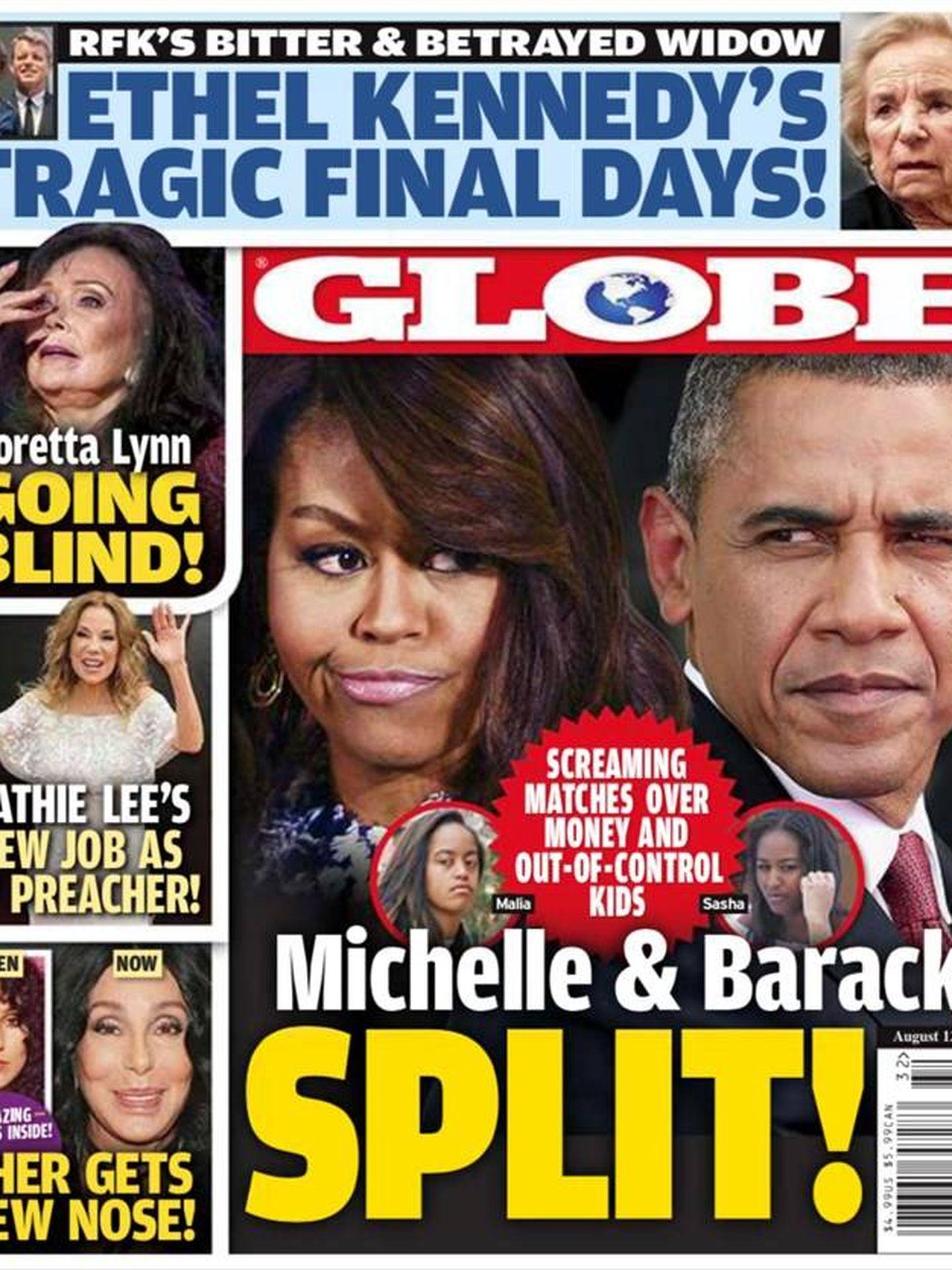Portada de la revista. (Globe)