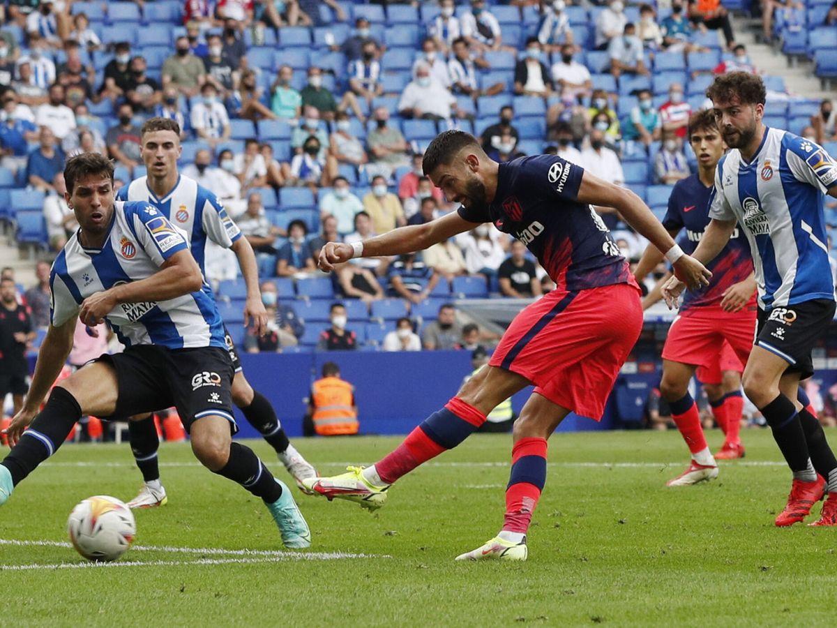Foto: Carrasco anota el gol del empate. (REUTERS)