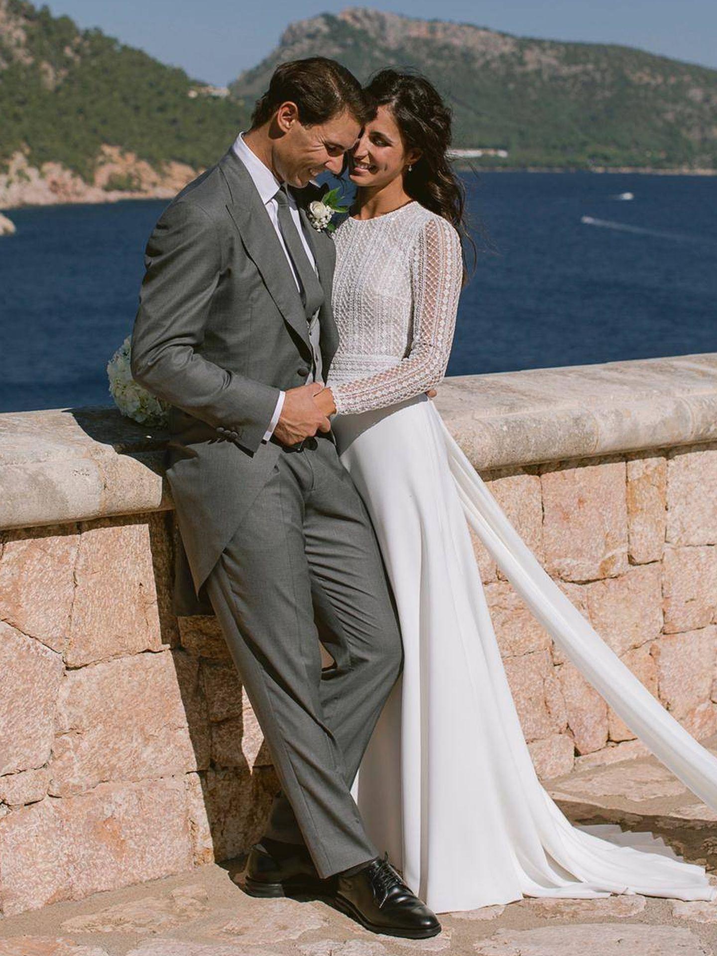 Rafa Nadal y Xisca Perelló recien casado. (Fundacion Rafa Nadal)
