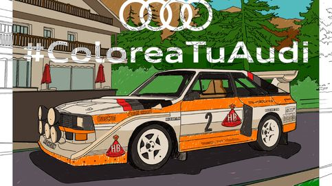 Colorea láminas de coches y compártelas en las redes sociales
