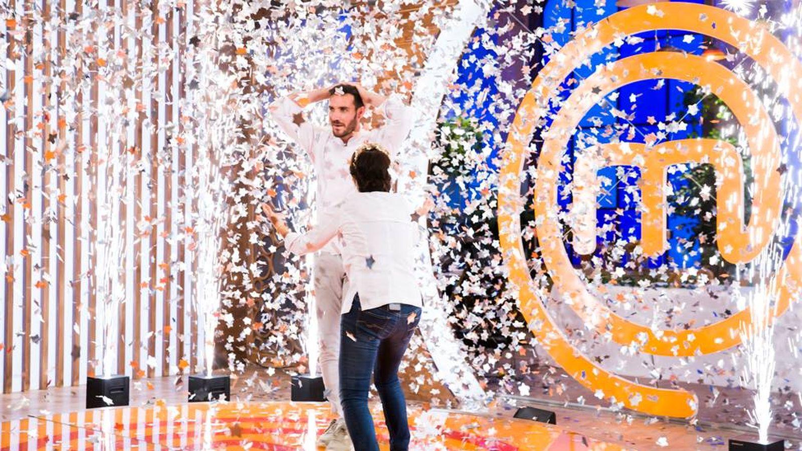Foto: Saúl Craviotto gana 'MasterChef Celebrity'.