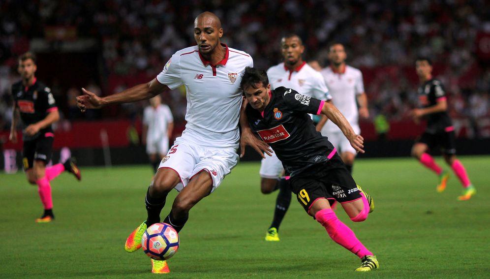 Foto: N'Zonzi se ha convertido en un año en un jugador fundamental para el Sevilla (Reuters)