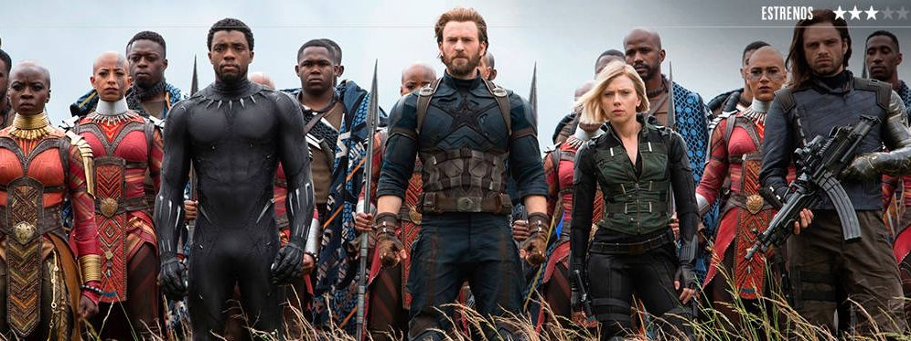 Foto: 'Vengadores: Infinity War'.