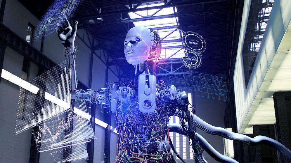 Foto: Robot inteligencia artificial. (iStock)