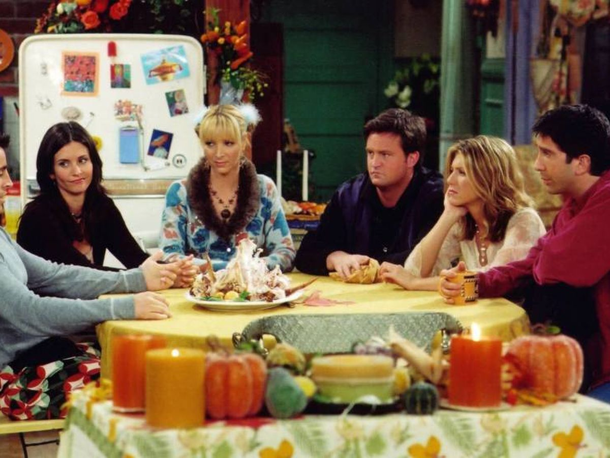 Foto: Fotograma de la serie de television 'Friends'.(Cordon Press)