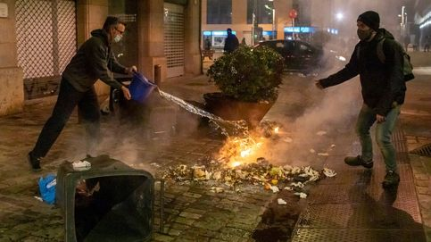 Salvar a Puigdemont incendiando la calle