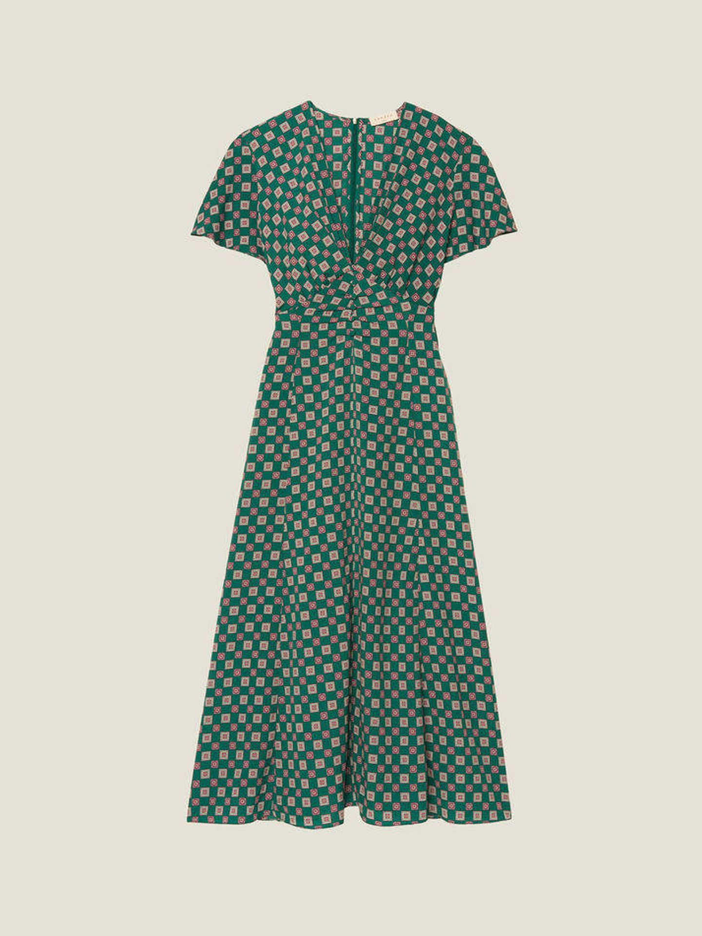 Vestido que ha lucido este lunes Kate Middleton. (uk.sandro-paris.com)
