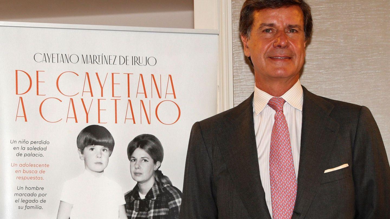Cayetano Martínez de Irujo, en la presentación de su libro. (EFE)