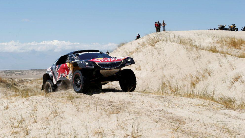 Sainz salva el primer asalto para el Dakar: pierde 13 minutos, pero aún tiene 50