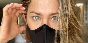 Post de Jennifer Aniston habla sobre el uso de las mascarillas:
