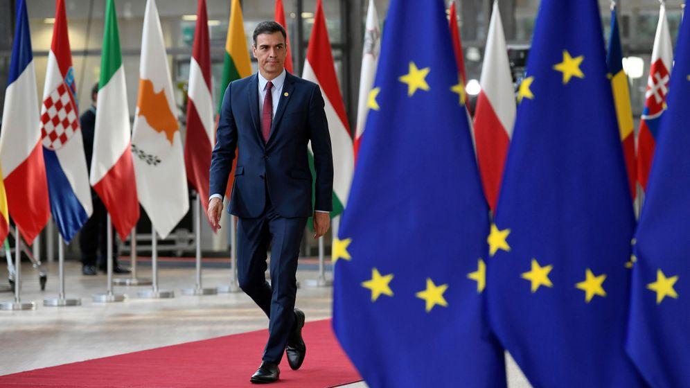 Foto: Pedro Sánchez llegando a una reunión del Consejo Europeo. (Reuters)