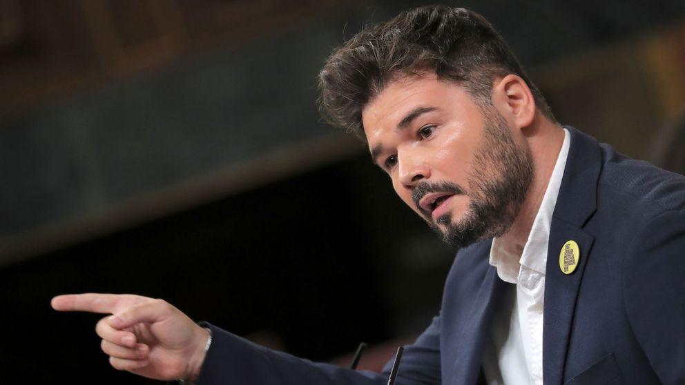 Gabriel Rufián a Pedro Sánchez: Es irresponsable y negligente