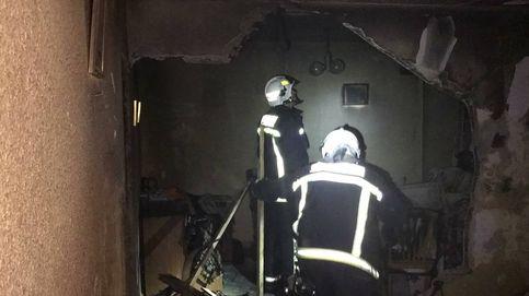 Cinco personas heridas tras producirse una explosión de gas butano en Griñón (Madrid)