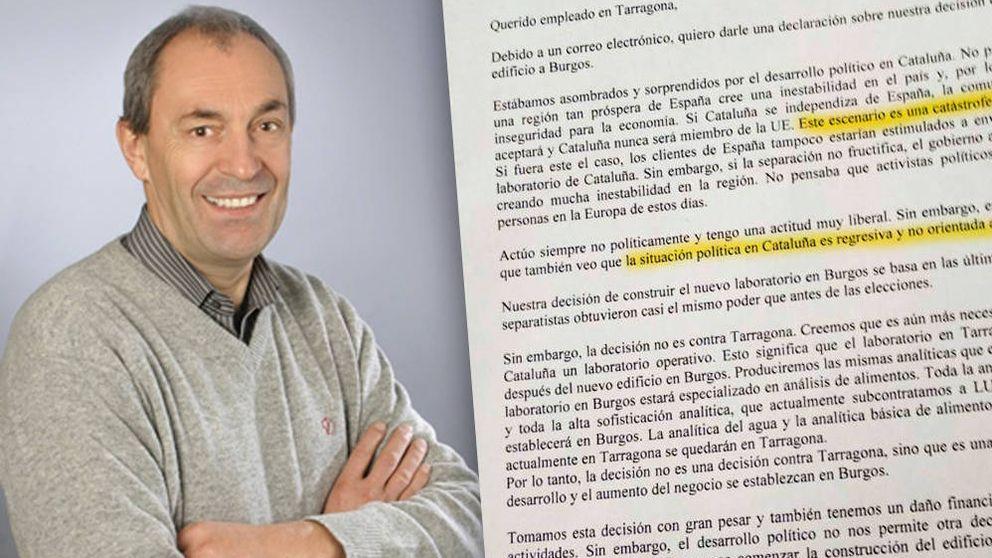 El CEO alemán que ha cambiado Cataluña por Burgos: el 'procés' es una catástrofe