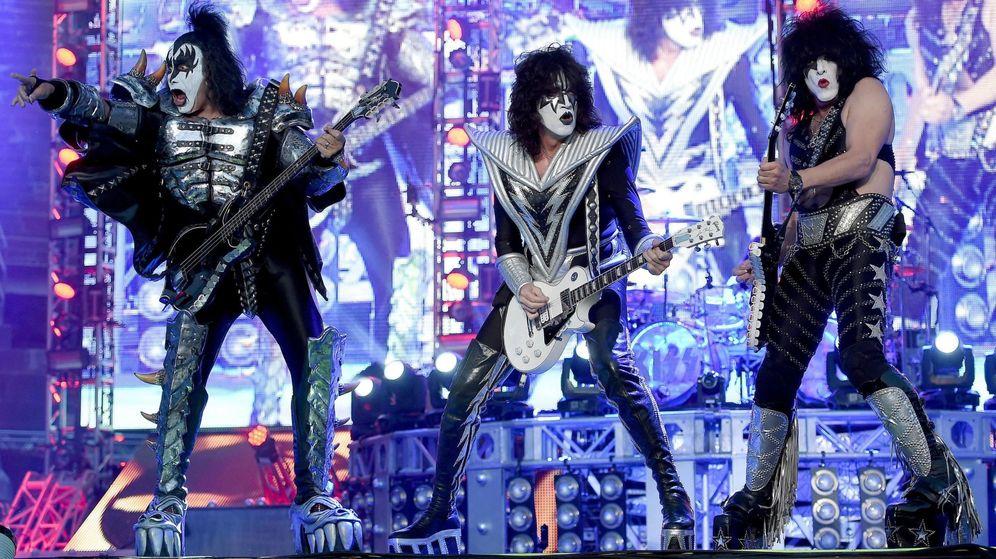 Foto: KISS ya ha arrancado su gira final tras 45 años en la música (EFE)
