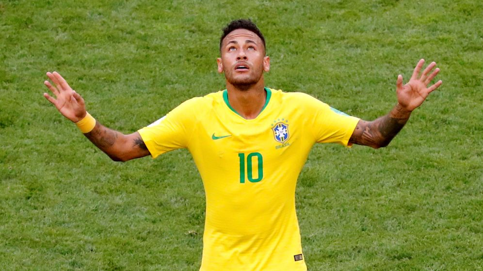 Foto: Neymar marcó uno de los goles de Brasil en la victoria ante México en los octavos de final del Mundial. (Reuters)