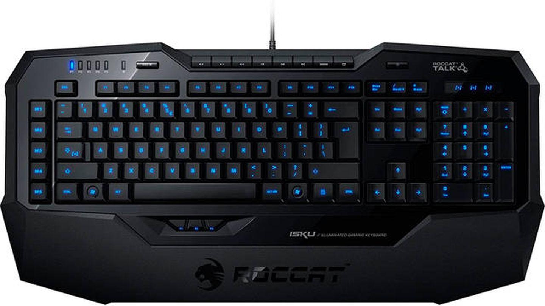 Teclado para gamers con iluminación azul ROCCAT
