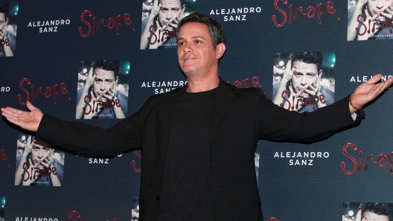 Alejandro Sanz en la presentación de 'Sirope'. (EFE)