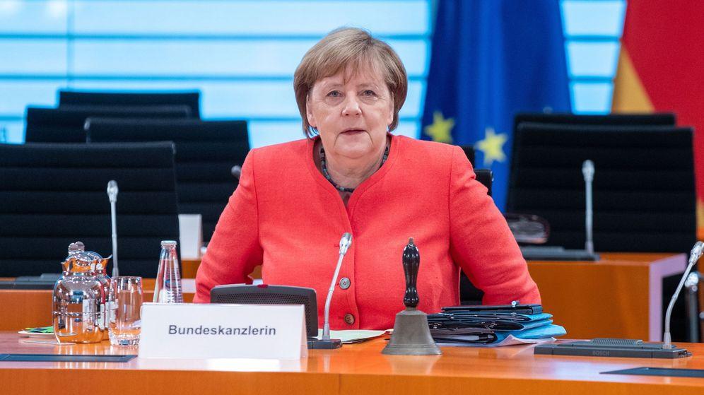 Foto: La canciller alemana, Angela Merkel, en una reunión de su gabinete. (Reuters)