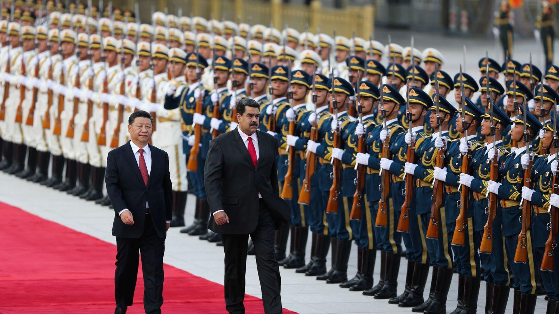 Maduro se encuentra en China, en visita oficial al presidente Xi Jinpin. (Reuters)