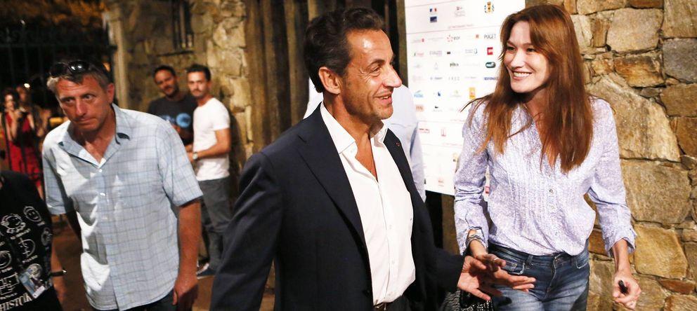 Foto: Nicolas Sarkozy y Carla Bruni en agosto de 2013 (Gtres)
