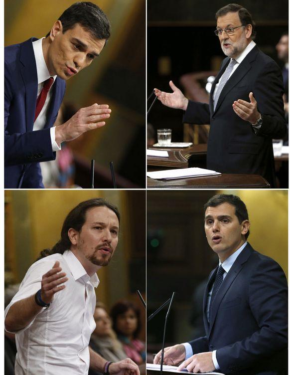 Foto: Segunda jornada del debate de investidura.