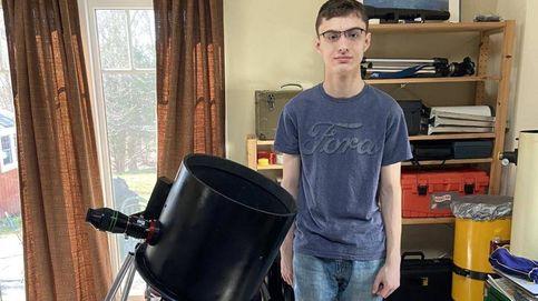 Un joven autista de 17 años construye, en su casa, un telescopio de alta potencia