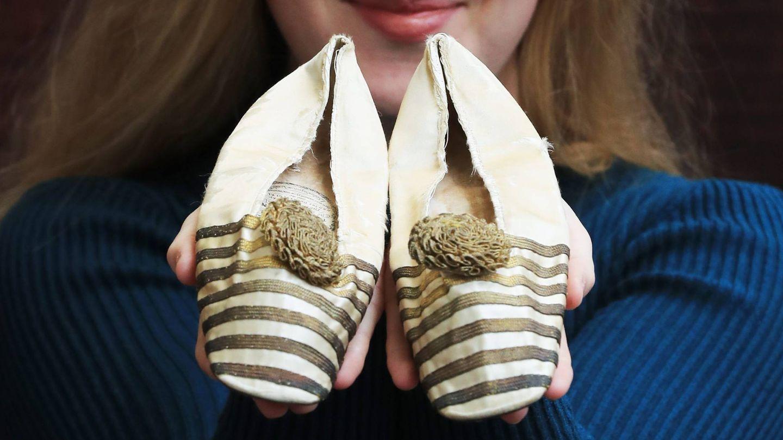 Zapatillas de ballet de la reina Victoria. (Cordon Press)