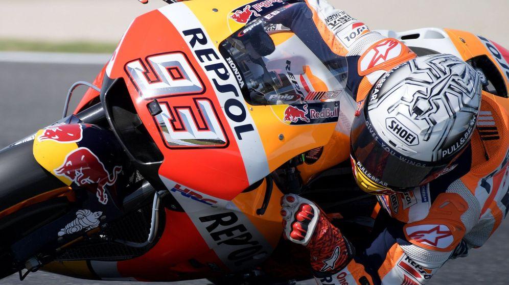 Foto: Marc Márquez en el pasado GP de Australia. (EFE)